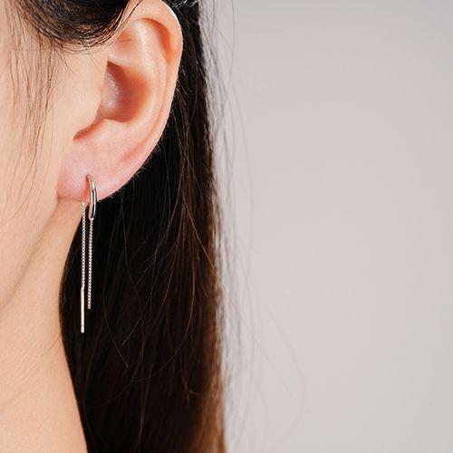 Sterling zilveren oorbellen van Ezalya
