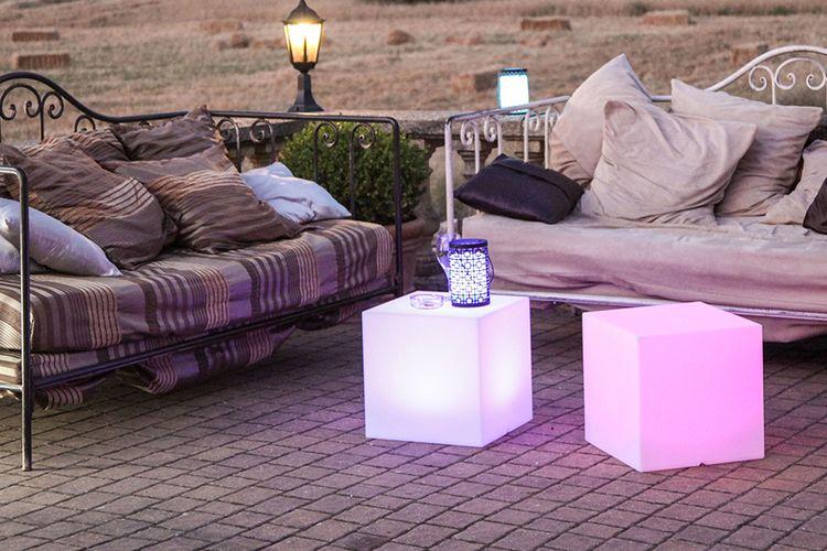 C40 Batimex Lumisky Cube Led KubusLa Rechargeable Lampe QsdtxChr