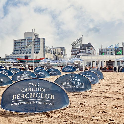 Overnachting in Carlton Beach Hotel Scheveningen (4*)