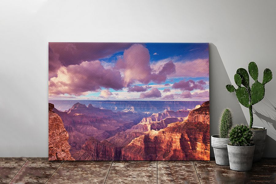 Landschappen op canvas 60 x 40 cm (29 varianten)