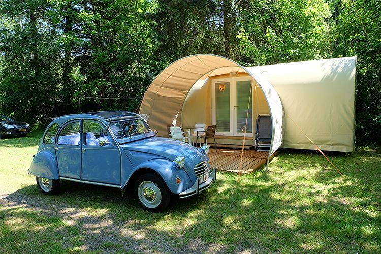 Midweek - weekend in CoCo Sweet-tent in de Ardennen