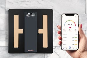 Hyundai lichaamsanalyse-weegschaal met bluetooth en app