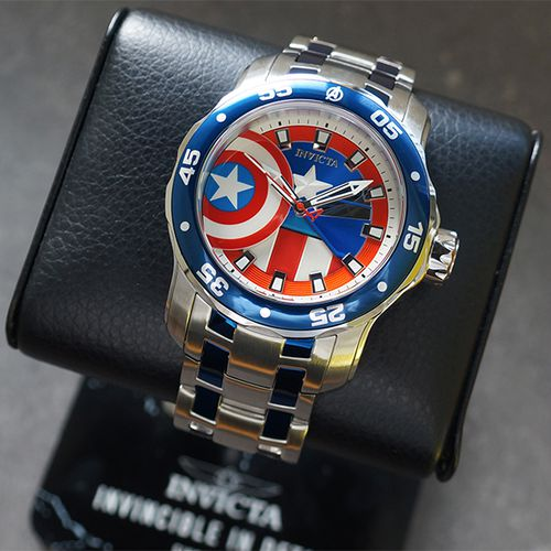 Marvel Captain America-herenhorloge van Invicta
