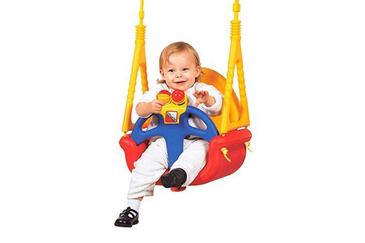 Korting Verstelbare schommel voor baby s en kinderen