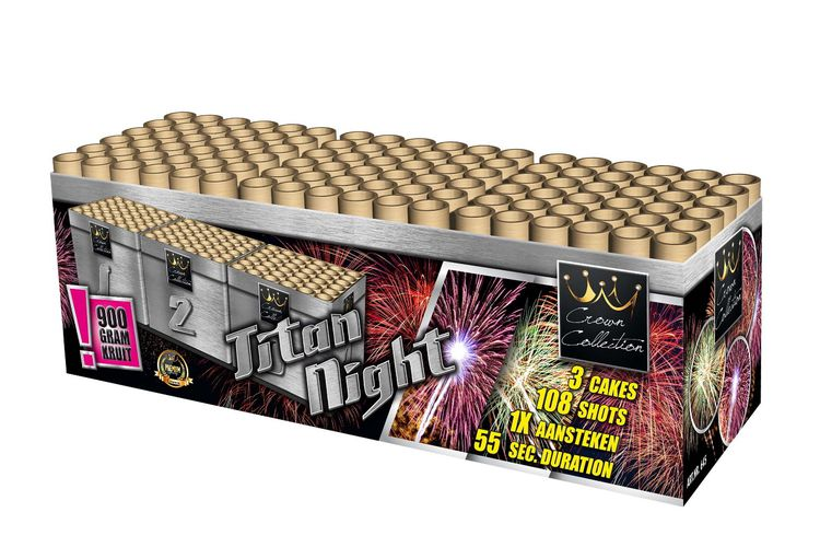 Vuurwerkbox (Titan Night Cakebox)