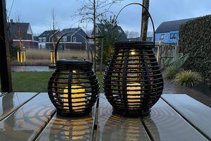 2 lanternes solaires de FlinQ