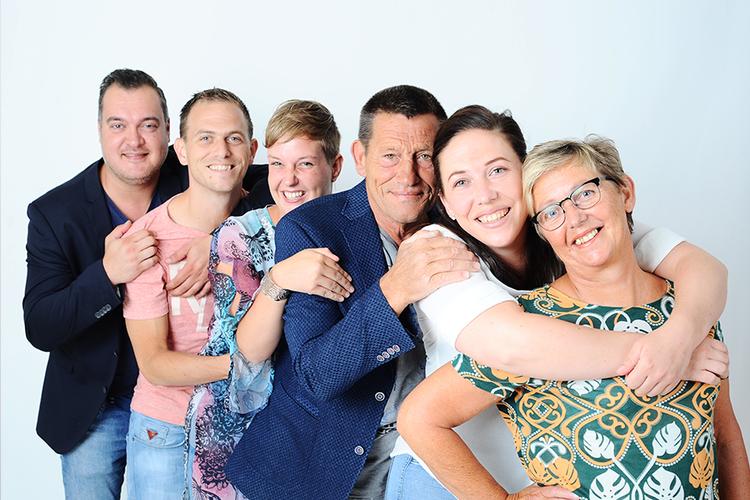 Fotoshoot voor maximaal 6 personen in Rotterdam