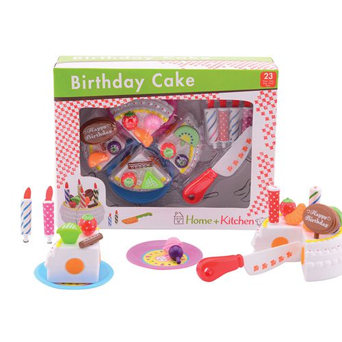 Speelgoed-verjaardagstaart