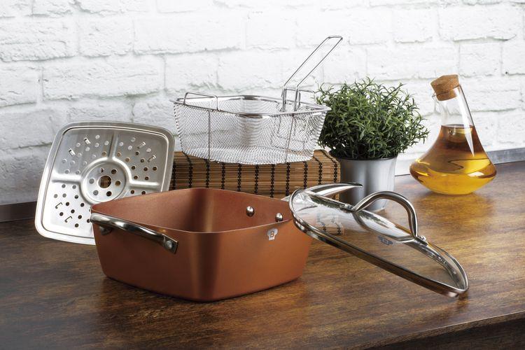 slajeslag Multifunctionele Blaumann pan (stomen, frituren, koken)