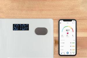 Bluetooth-weegschaal met app van Hyundai