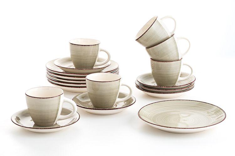 18-delige koffieset van Quid (collectie: Vita Gris)