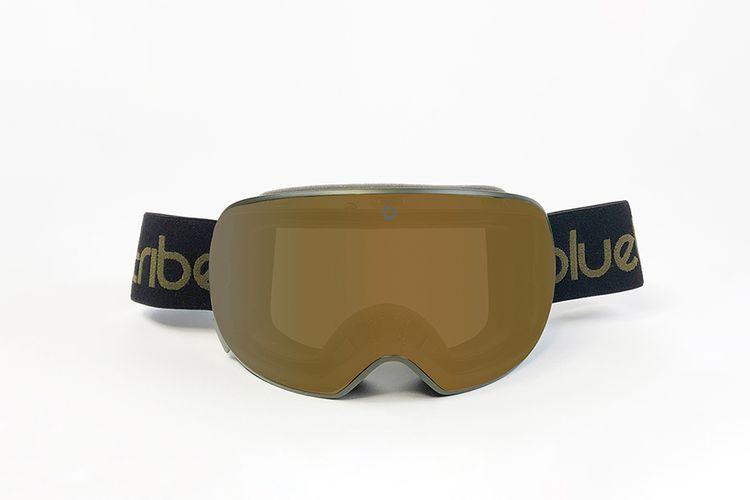 slajeslag Groene skibril van Bluetribe met verwisselbare lens