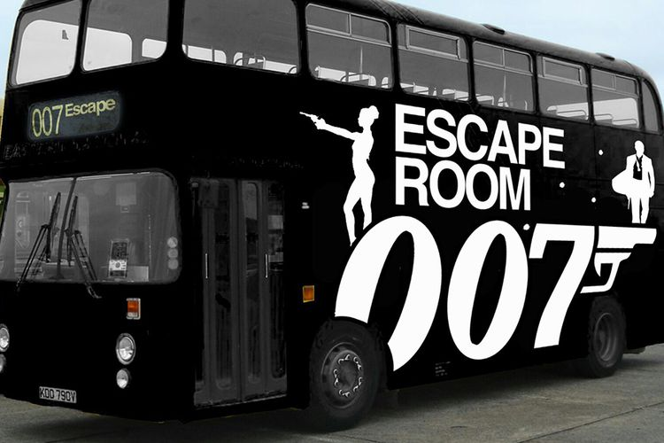 Korting Gent Escape Bus Antwerpen kunnen jullie ontsnappen Euro (4 p.)