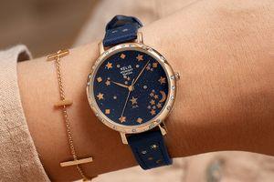 Cadeautip! Blauw dameshorloge van Mr. O by AVA