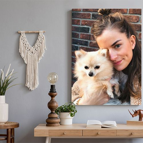 Jouw mooiste foto op canvas
