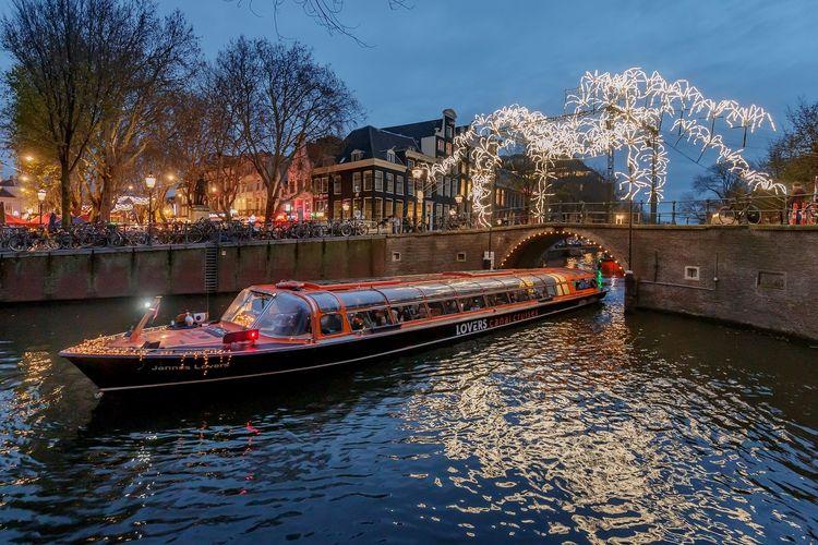 Amsterdam Light Festival: rondvaart door de stad (2 p.)