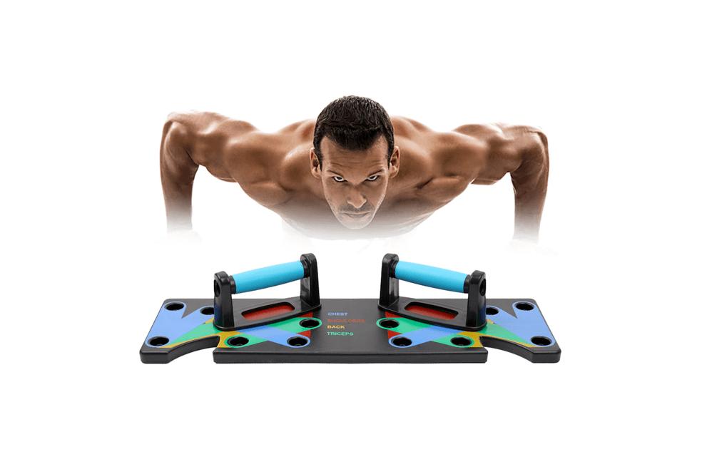 Push-up board voor het trainen van je bovenlichaam