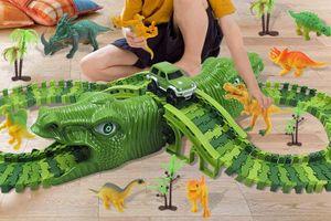 Dinosaurus-racebaan
