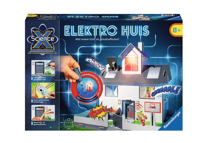 ScienceX® Elektro Huis van Ravensburger