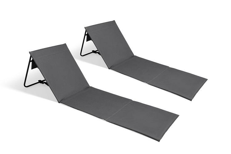2 opvouwbare ligstoelen van Intimo