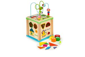 Houten speelgoed-kubus