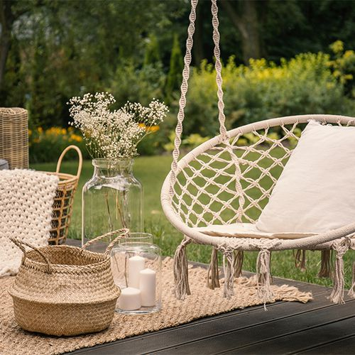 Hangstoel voor buiten