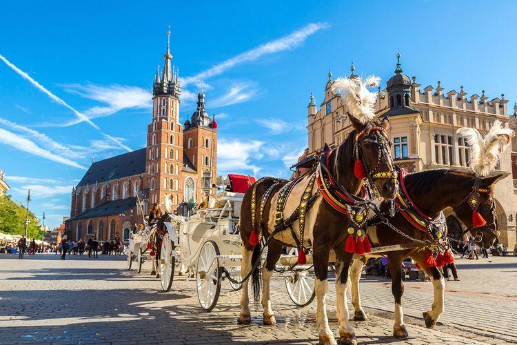 Korting ✈ 3 daagse stedentrip naar Krakau, Polen (2 p.)