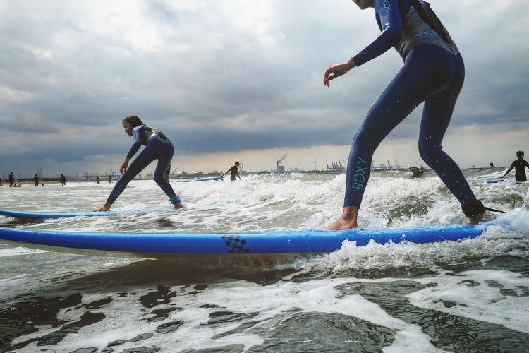 Surfles bij De Surfschool in Hoek van Holland (1 p.)