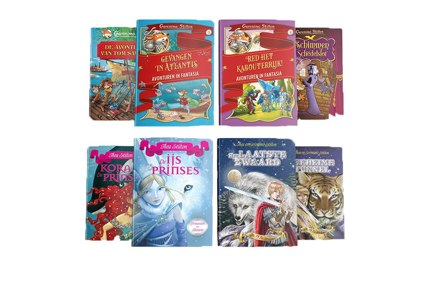 8 boeken van Stilton
