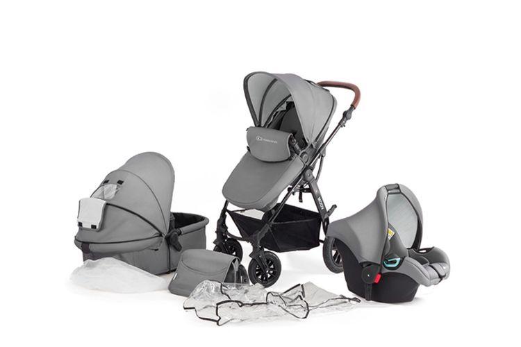 3-in-1 kinderwagen Kinderkraft (grijs)
