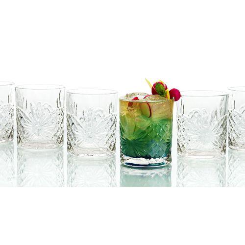 Set van 6 whiskyglazen van Quid (model: Rozana)