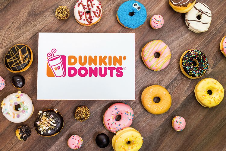 Korting 24 verschillende donuts van Dunkin Donuts
