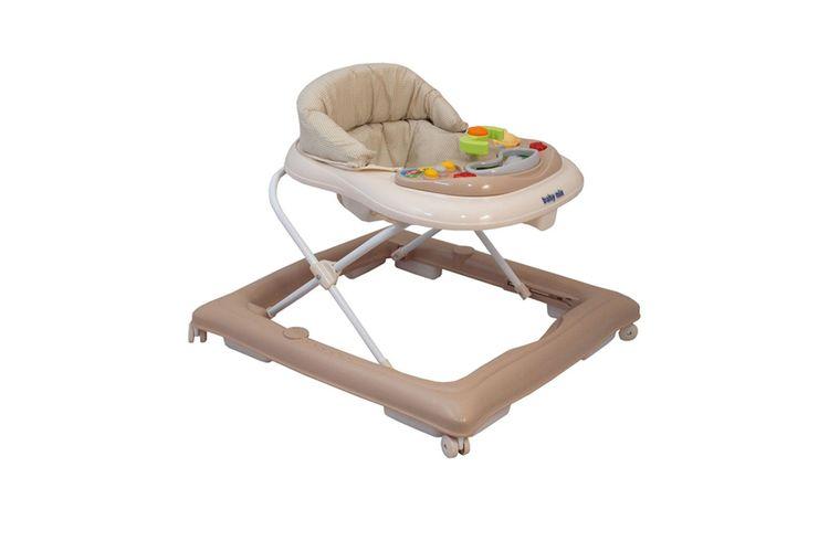 Babywalker loopstoel baby walker loopstoel koffiekleur