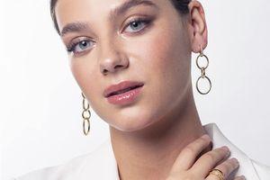 Boucles d'oreilles dorées de Di Lusso