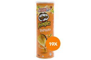 19 bussen Pringles Paprika