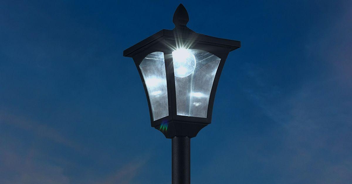 Lampadaire solaire Hyundai (160 cm de hauteur)