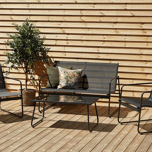Aluminium loungeset inclusief salontafel van Envy