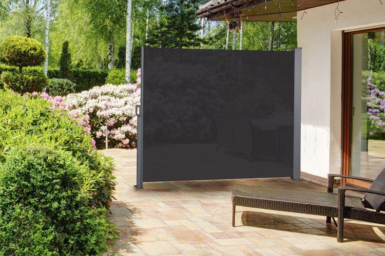 pare vent noir 170 pare vent r tractable noir hauteur 170 cm vavabid participez aux. Black Bedroom Furniture Sets. Home Design Ideas