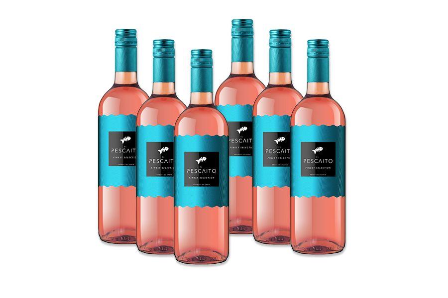 6 flessen Vicente Gandia El Pescaito ros� (750 ml)