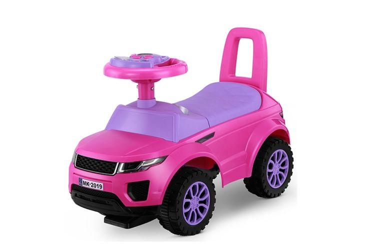 Roze SUV loopauto