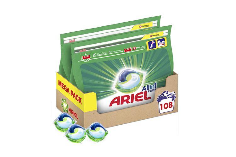 SlaJeSlag 2 pakken Ariel Liquid All-in-1 Pods (108 pods)