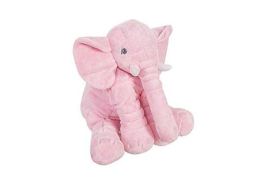 Roze olifantenknuffel (45 x 60 cm)