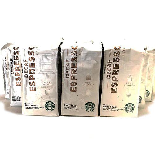 3 kilo decafe koffiebonen van Starbucks