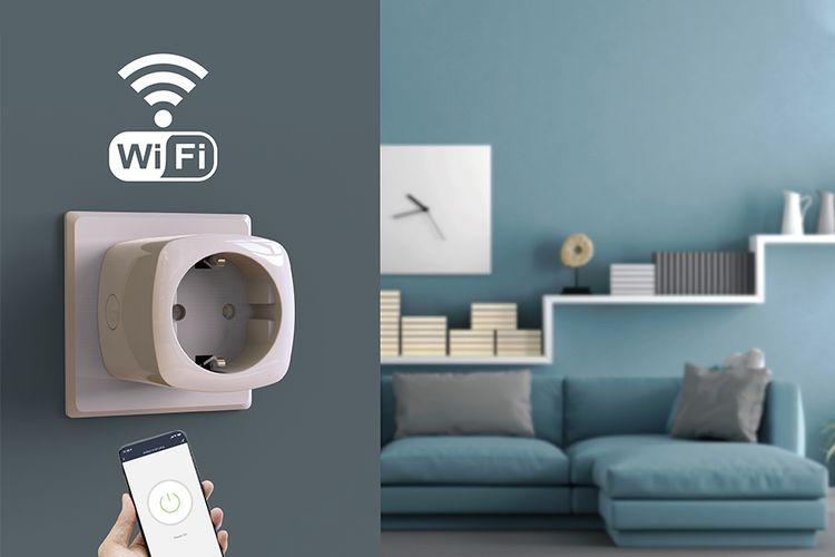 3 slimme wifi-stekkers met energiemeter van FlinQ