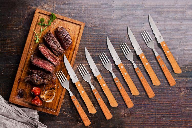 SlaJeSlag 12-delige steakbestek van Berlinger Haus (BH-2105)