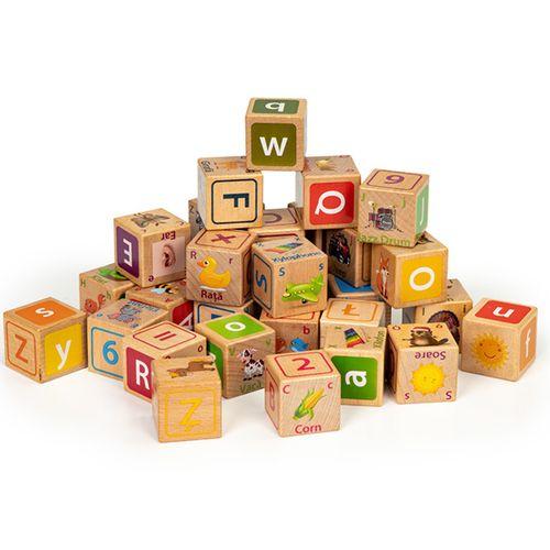 32-delige houten blokkenset