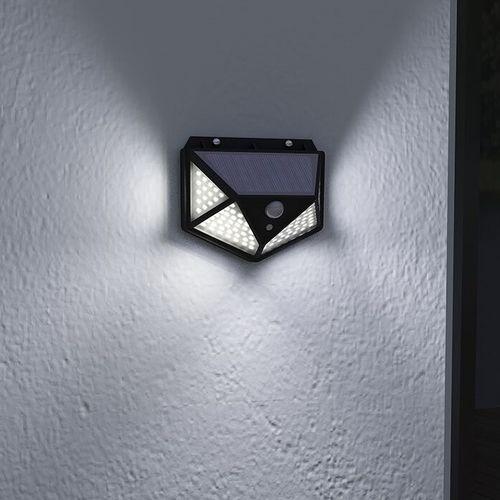Korting Solarlamp met bewegingssensor van Hyundai (100 leds)