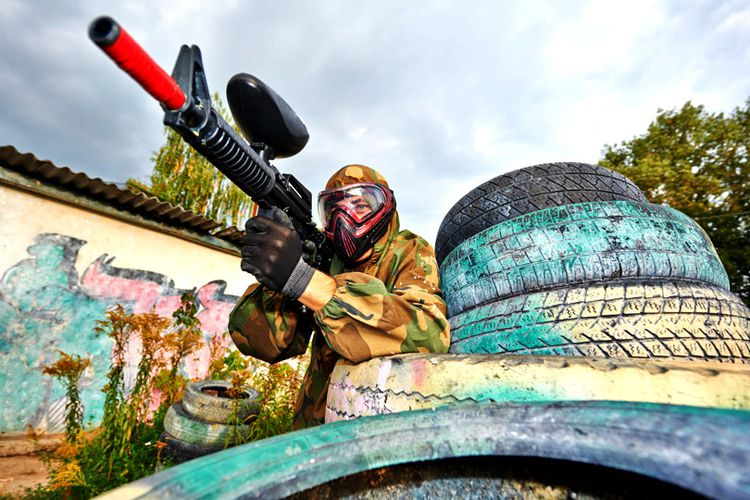 Paintball in Nederland of Belgi� (12 p.)