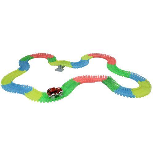 Flexibel en lichtgevend circuit