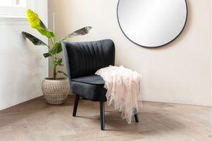 Zwarte stoel van VELYON (model: Sofia)
